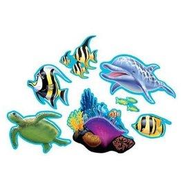 Creative Converting DECOUPAGES DE CARTON SOUS L'OCEAN