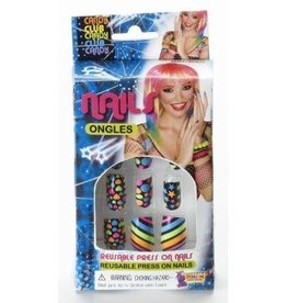 """Forum Novelty FAUX ONGLES """"CLUB CANDY"""""""