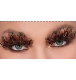 Forum Novelty FAUX CILS LEOPARD
