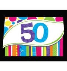 Creative Converting INVITATIONS 50 ANS (8)