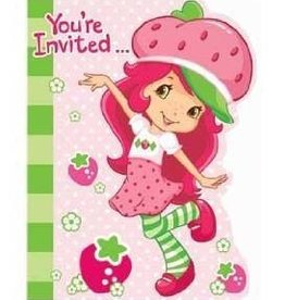 Amscan INVITATIONS STRAWBERRY SHORTCAKE (8)