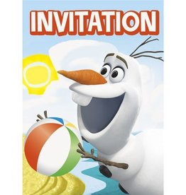 Unique INVITATIONS OLAF AT THE BEACH (8)