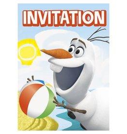 Unique INVITATIONS OLAF A LA PLAGE (8)