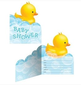 Creative Converting INVITATIONS PETITS CANARDS (8)