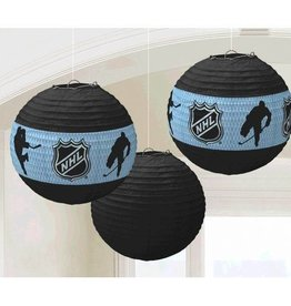 Amscan SUSPENDED NHL PAPER LAMP