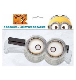 Unique LUNETTES DE PAPIER - LES MINIONS (8)