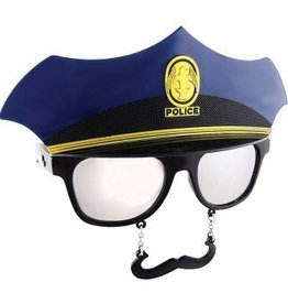 Forum Novelty LUNETTES SUNSTACHES - MOUSTACHE POLICIER