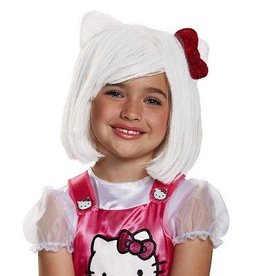 Disguise HELLO KITTY WIG CHILD
