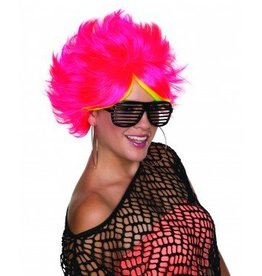 RUBIES WIG POP STAR PINK