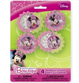 Unique PORTES-CLES MIRROIR MINNIE MOUSE
