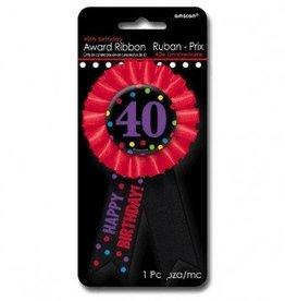Amscan RUBAN DE FETE 40 ANS