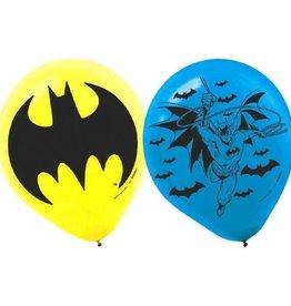 Amscan SAC DE 6 BALLONS BATMAN