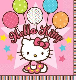 Amscan SERVIETTES DE TABLE HELLO KITTY (16)