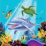 Creative Converting SERVIETTES DE TABLE (16) - SOUS L'OCEAN