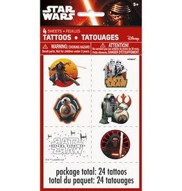 Unique TATOUAGES - STAR WARS EPISODE VII (4)