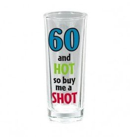 Amscan VERRE A SHOOTER 60 ANS