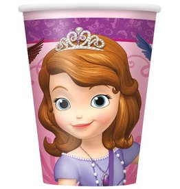 Unique PLASTIC GLASSES 9OZ DISNEY SOFIA (8)