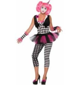 Forum Novelty COSTUME CLOWNETTE TRICKSY