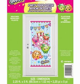 Unique AFFICHE DE PORTE - SHOPKINS