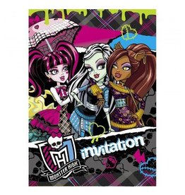 California Costumes INVITATIONS - MONSTER HIGH (8)