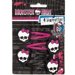 Unique BARRETTES (4) - MONSTER HIGH
