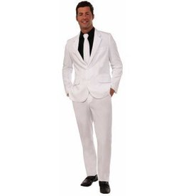 Forum Novelty COSTUME ADULTE COMPLET-CRAVATE BLANC