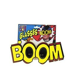 "Forum Novelty LUNETTES GEANTE ""BOOM"" -POP ART-"