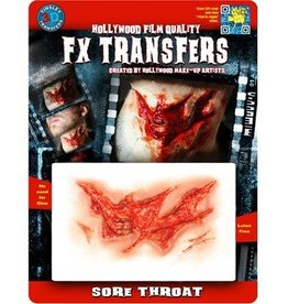 TINSLEY PROTHESE FX TRANSFERS - SORE THROAT
