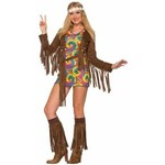 Forum Novelty COSTUME HIPPIE SHIMMY