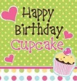 Creative Converting NAPKIN HAPPY BIRTHDAY SUGAR CAKE