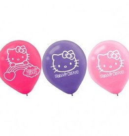 Amscan SAC DE 6 BALLONS HELLO-KITTY ARC-EN-CIEL