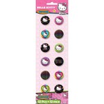 Amscan BOUTONS HELLO KITTY RETRO (12)