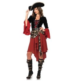 Leg Avenue COSTUME CRUEL PIRATE OF THE SEAS