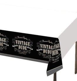 """Creative Converting NAPPE DE PLASTIQUE (54""""X102"""") - VINTAGE DUDE"""