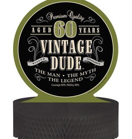Creative Converting CENTRE DE TABLE - VINTAGE DUDE 60