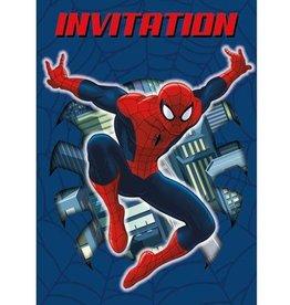 Unique INVITATIONS - SPIDER-MAN (8)