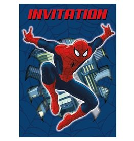 Unique INVITATIONS - SPIDER-MAN (8)