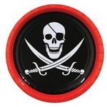 Beistle Co. ASSIETTES 9'' PIRATE (8)