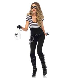 Leg Avenue COSTUME BANK THIEF WOMAN