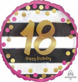 Anagram BALLON MYLAR 18'' - HAPPY BIRTHDAY 18