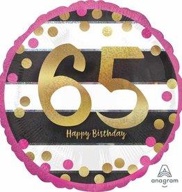 Anagram MYLAR 18'' - HAPPY BIRTHDAY 60