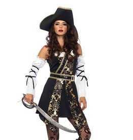 Leg Avenue COSTUME BLACK SEA BUCCANEER