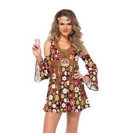 Leg Avenue COSTUME HIPPIE FLOWER STAR