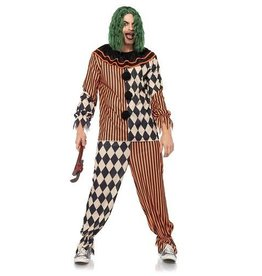 Leg Avenue COSTUME TERRIFING CLOWN CIRCUS