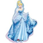 Qualatex BALLON MYLAR SUPERSHAPE - CENDRILLON