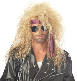 California Costumes WIG ROCKER HEAVY METAL BLONDE