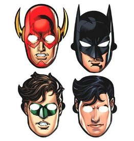 Amscan MASQUES DE PAPIER - JUSTICE LEAGUE (8)