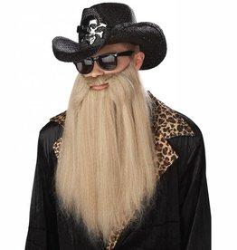 "California Costumes BARBE ""ZZ TOP - SHARP DRESSED MAN"" BLONDE"