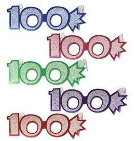Beistle Co. LUNETTES DE CARTON 100 ANS (1)