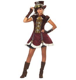 California Costumes COSTUME STEAMPUNK LADY